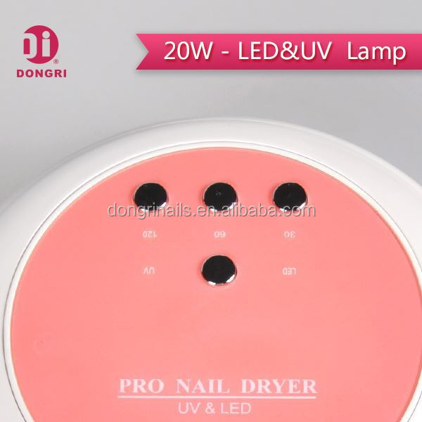 Fast Curing ccfl nail led uv lamp for nail dry with sensor