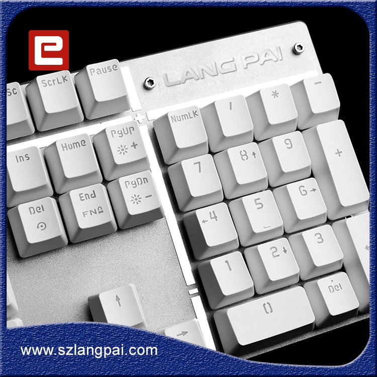 Keyboard With USB port Floating Keycaps Keyboard from factory