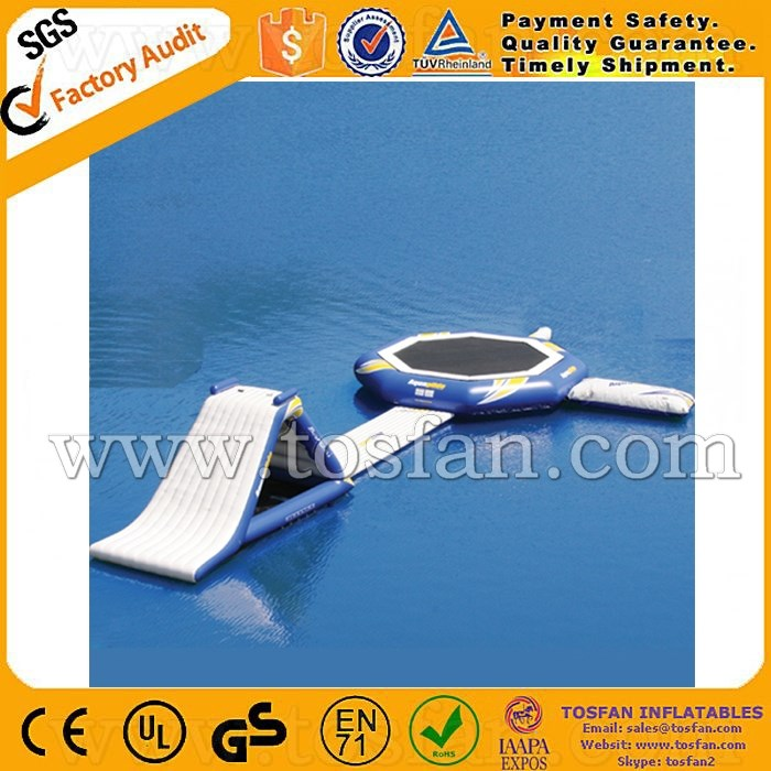 Outdoor inflatable water park inflatable water trampoline A9042