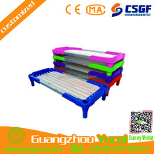 latest modern furniture school plastic wooden double bed designs for kids
