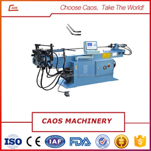 Semiautomatic pipe tube bending machine for motorcycle exhaust pipe bending