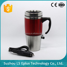 Suzhou Stainless Steel Customizable Logo Electric Heating Cooling Cup,Car Electric Mug,Travel Mug