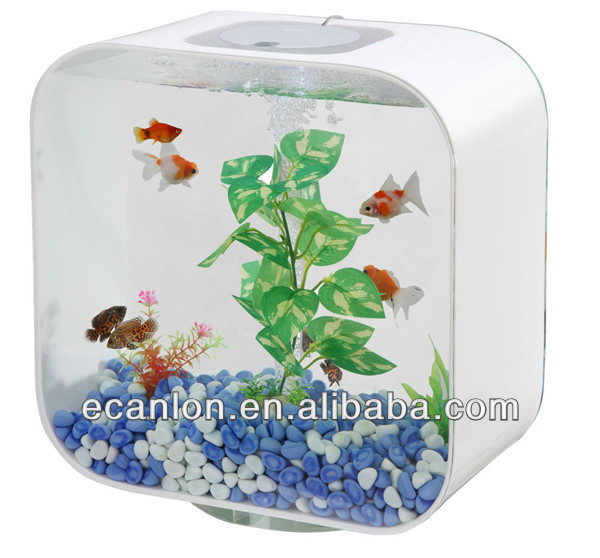 wholesale lucite plastic fish bowl