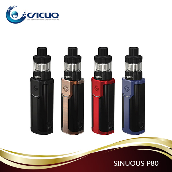 100% original WISMEC SINUOUS P80 with ELABO mini Kit