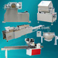 Automatic rice puffed bar production line