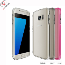 360 Degree Ultra Thin PC and TPU in One, Cover for Samsung Galaxy S7 Edge, Newest Fashion Phone Case