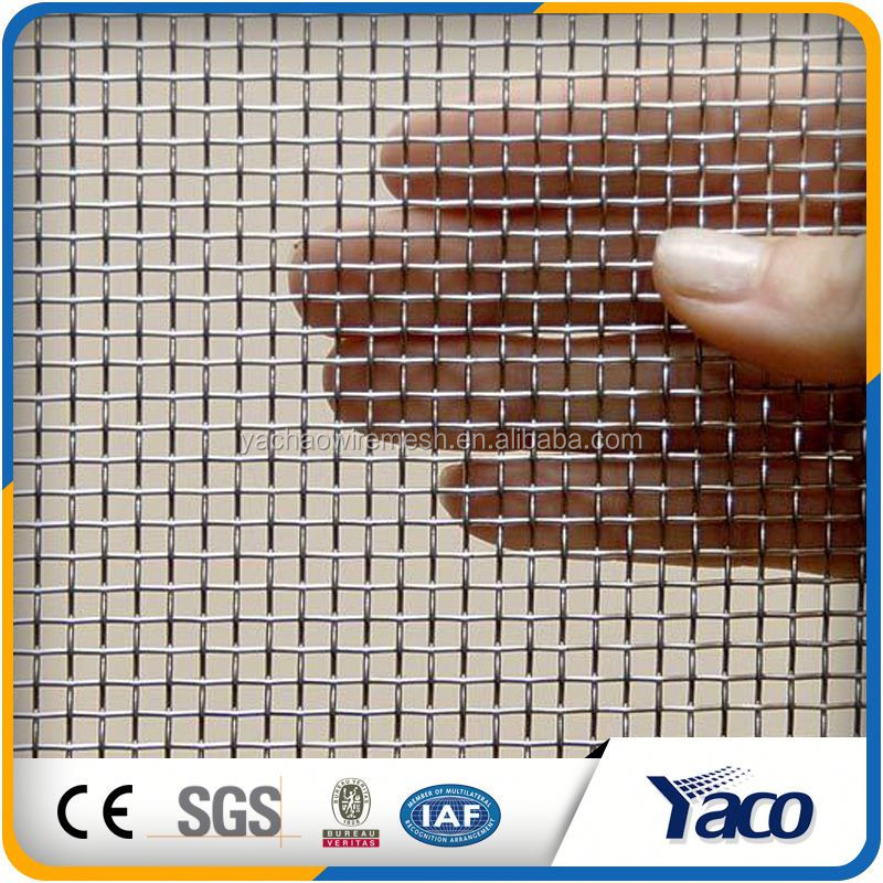 New Condition Coated Wrap edges stainless steel crimped wire mesh screen