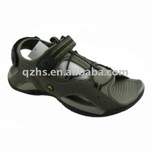 (Factory) 2012 HOT rubber outsole pu man sports sandals