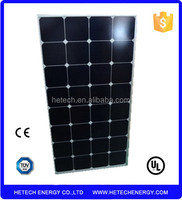 High efficiency 100W Sunpower cell Semi Flexible solar panel