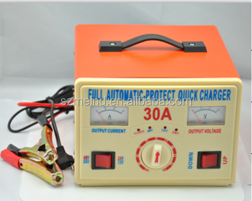 48V 30A Portable battery charger for motorcycle