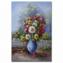 best saling ceramic flower pot vase painting designs on canvas