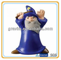 Blue old man magic stress ball toy