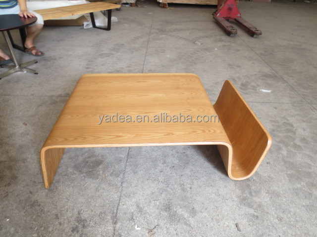Modern design plywood coffee table Eric Pfeiffer Scando table