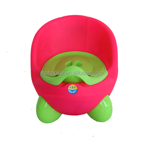 Pink and green color baby sitting chair,colorful baby potty