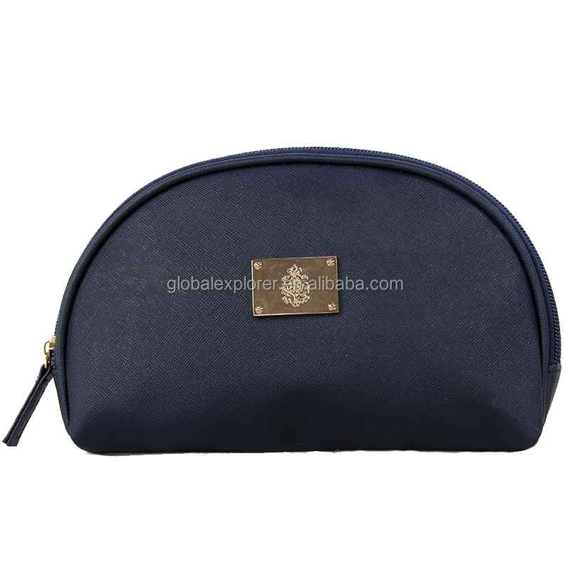 fasion oval shape pouch make up bag cosmetic bag