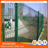 Powder coated welded Fence Nylofor 3D Wire Mesh Fence