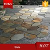 Nature Stone Pieces For Floor,Slate Paving Stone