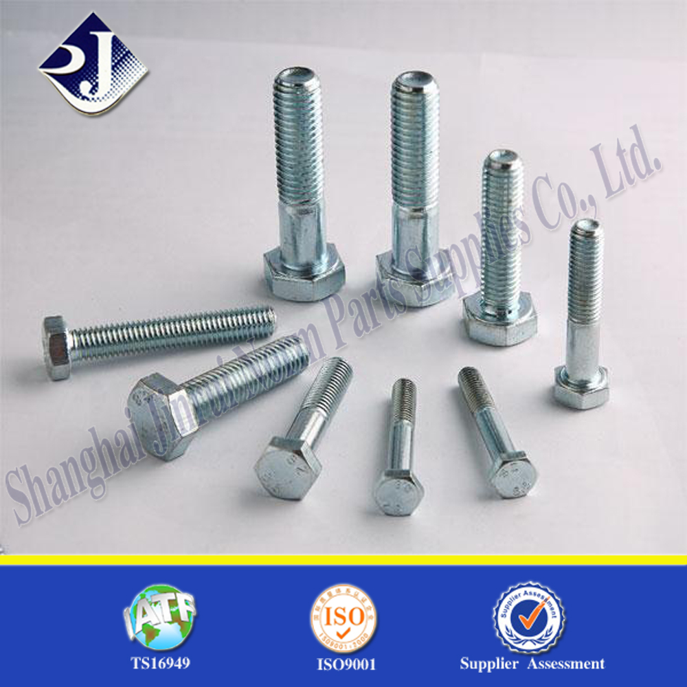 hex bolts hot dip galvanizing grade 8.8 Hex bolt and nut hex bolts din933 class 5.8