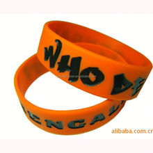 22-years-manufacturor Custom made mexico silicone bracelet