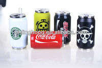 stainless steel vacuum cola coke can& flask cup & thermos