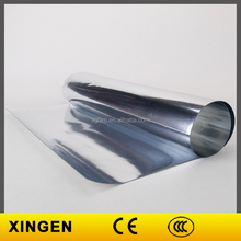 Glossy Metallic Pure Silver Metalized Polyester TPU Film