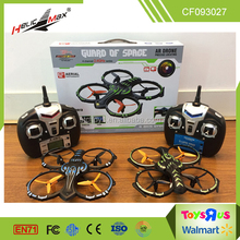 2016 sky flying rc ufo aircraft rc drone quadcopter with 0.3mp hd camera with LCD screen
