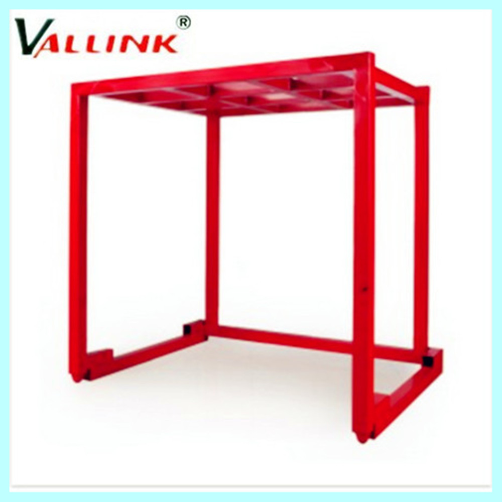 metal stackable pallet auto parts rack