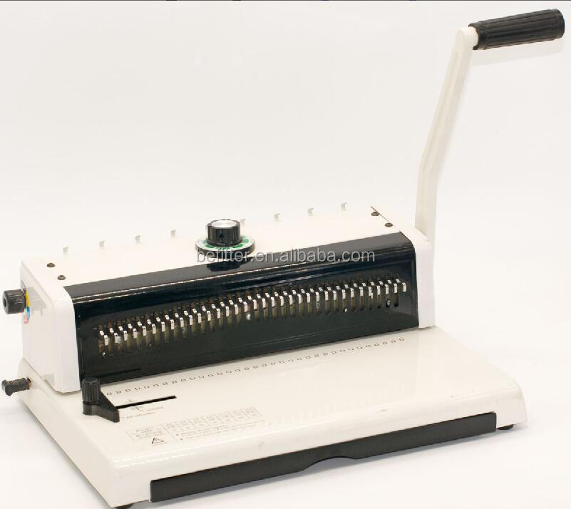 T598 A4 mini punch wire binding machine