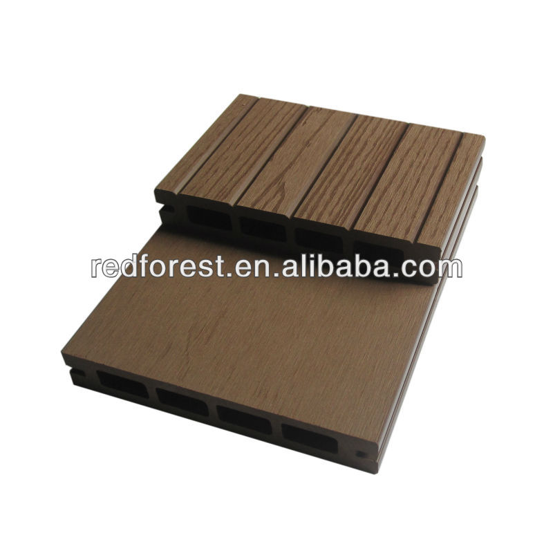 25*150mm plastic wood composite WPC outdoor decking flooring boards