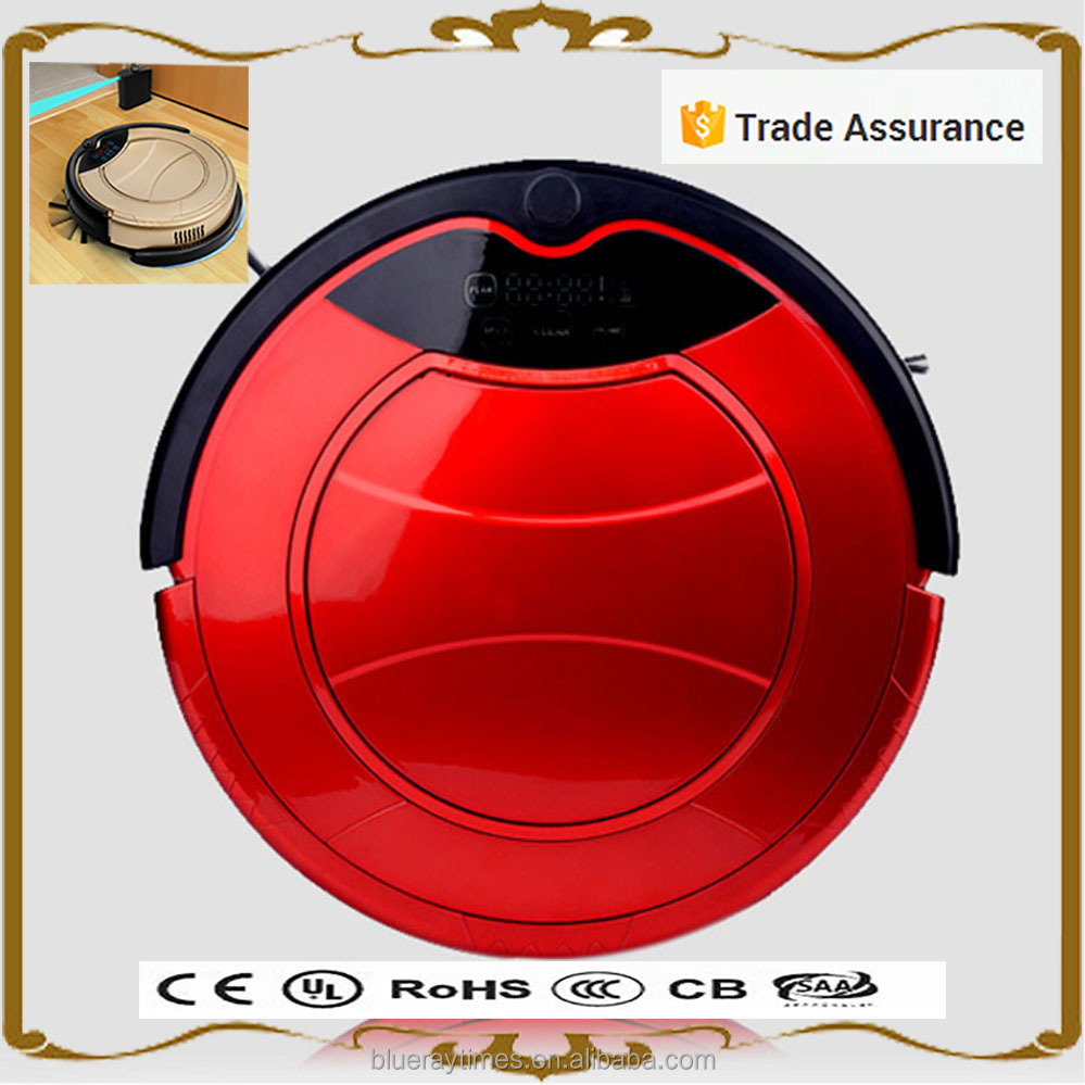 2016 new gadgets automatic min robot vacuum cleaner with mop uv light recharging