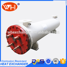 2017 New machine grade high quality shell and tube heat exchanger price for teeth