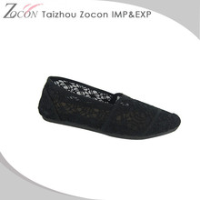 High Quality New Design Colorful Ladies Flat Shoes Guangzhou
