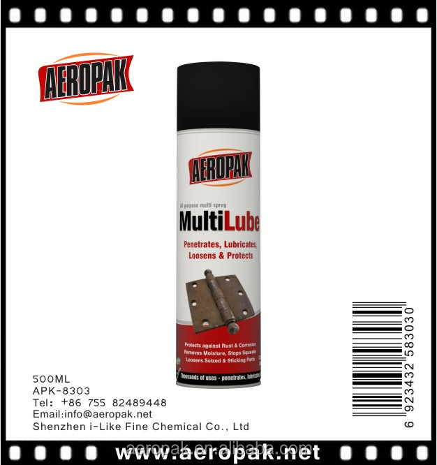 wholesale Anti-rust Lubricant spray same quality with WD40