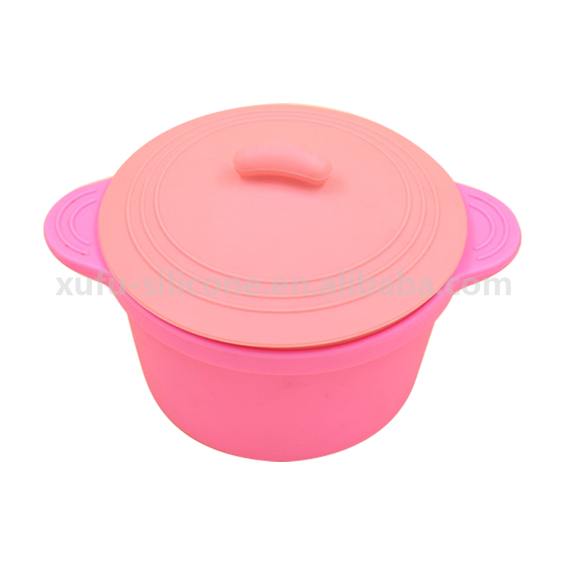 Mini Silicone Microwave Oven Safe Bowl with Covers