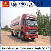 Competitive Price 8*4 Cement Bulk Truck Powder Material Transport Truck