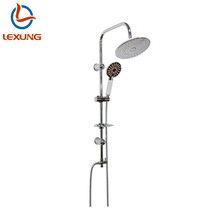 Bath Accessory Toilet Overhead Hot And Cold Shower Set Hidden Ceiling Rainfall Mist Shower Mixer