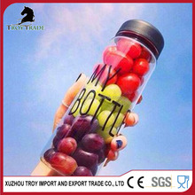 Fashion Big Mouth My Bottle Hot Cold Fruit Juice Glass Water Cup Travel Sports Bottle