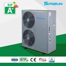 Room heater with SCOP tested by TUV in accordance with the European directive ErP and with the energy label