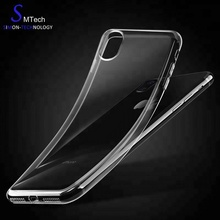 Transparent design 5 inch mobile phone back cover Clear Mobile Phone Tpu Cases For Iphone 6S plus