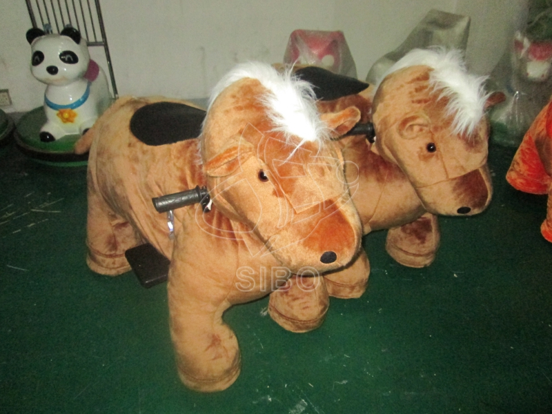 Amusement park gaming machines horse ride kiddie ride for sale