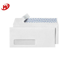 Chinese Supplier Yiwu Detrusion Custom High Quality White Plastic Window Envelope
