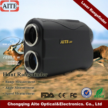 Long Range Hunting Rangefinder 1000M Distance Measure with Speed Finder