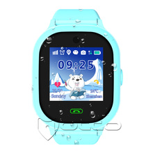 Chinese supplier ladies ip67 waterproof grade gps tracking kids security cell phone smart watch