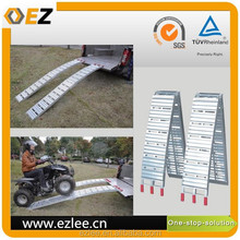 High quality motorcycle ATV car loading aluminum ramp foldable with CE
