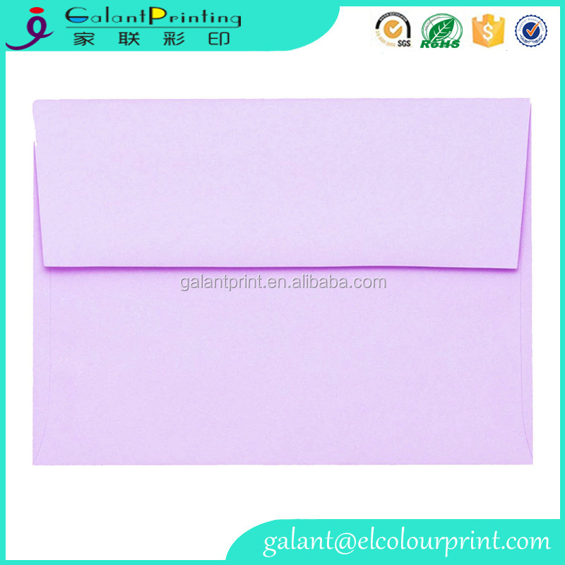 Decorative Handmade Gift Card Envelope Custom Printing Envelope for Wedding Invitations