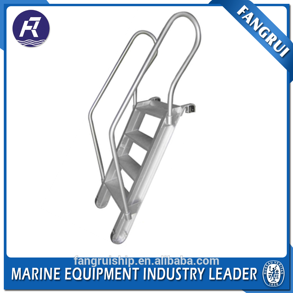 Marine hot dip galavnized hight quality boat steel step ladder