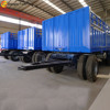 China made 30tons 40tons cargo trailer with drawbar for Ethiopia