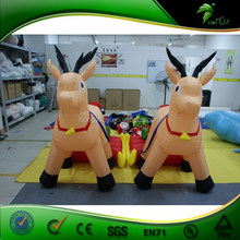 Competitive Price Inflatable yard inflatable christmas, inflatable stanta clous and reindeer