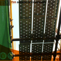 Tianjin Factory TSX-16081314 Cheap Galvanized Scaffolding Steel Plank/walk Board/ Catwalk/galvanized Metal Scaffolding