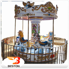 hot factory direct kids ride used portable small roundabouts merry go round carousel rides